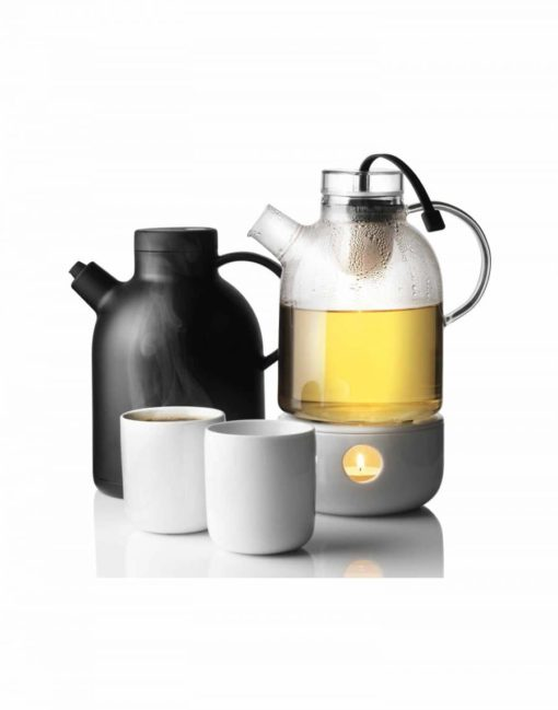 Kettle teapot with heater