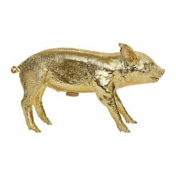 Areaware - Reality Collection Bank in the Form of a Pig Money Bank - Gold
