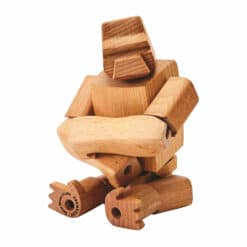 Areaware - Hanno the Gorilla Wooden Toy