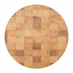 Ferm Living - Chess Cutting Board - Natural - Round Small