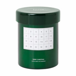 Ferm Living Scented Christmas Calendar Candle - Green