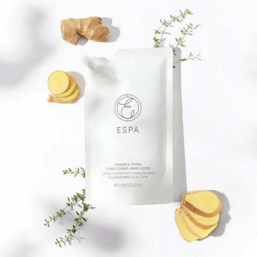 ESPA Essentials Conditioning Hand Lotion 400ml - Ginger and Thyme