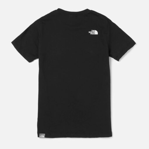 The North Face Boys' Youth Short Sleeve Easy Tee - Black - 7-8 Years