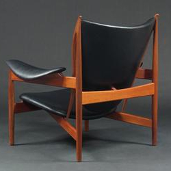 Black-leather-Chieftain Chair_back