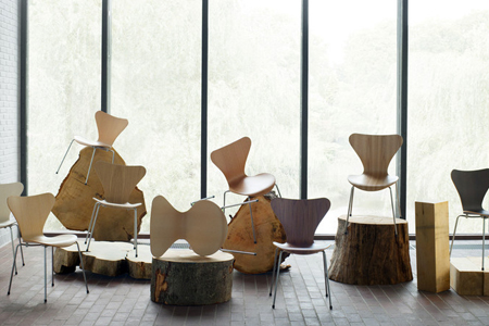 New-editions of the Seven Series chair by Arne Jacobsen
