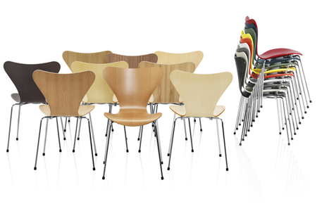 Various Seven Series chairs